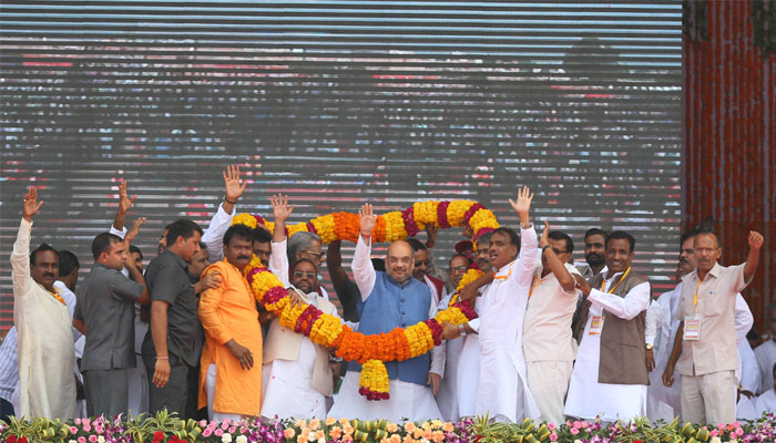 Yadav family fight is of money rathar than power, says Amit Shah