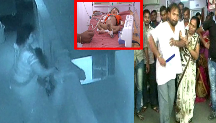 A child had a providential escape from death in a Kanpur hospital