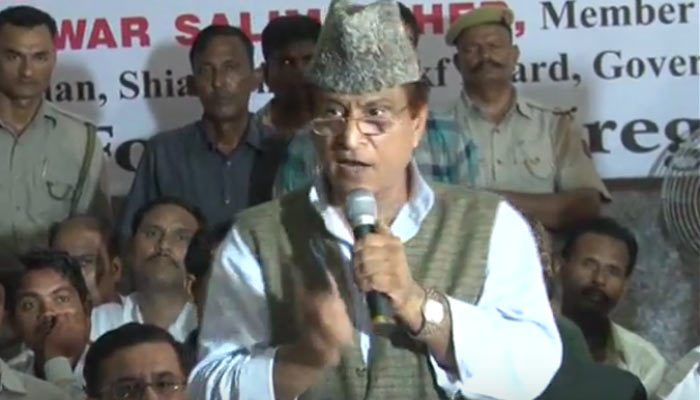 Development will become a major threat to the mankind: Azam Khan