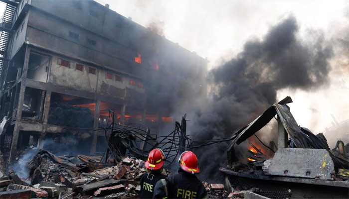At least 25 killed, 100 injured in Bangladesh factory explosion