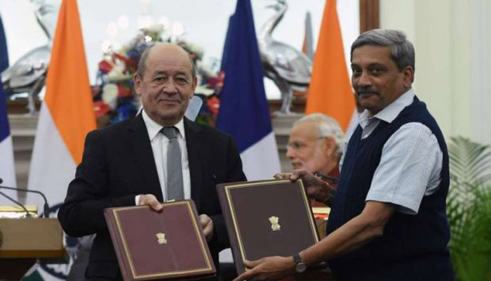 India-France sign deal for supply of state-of-the-art Rafale fighter jets