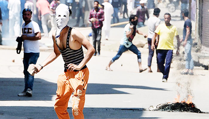 Kashmir unrest: One killed, two others injured in stone pelting