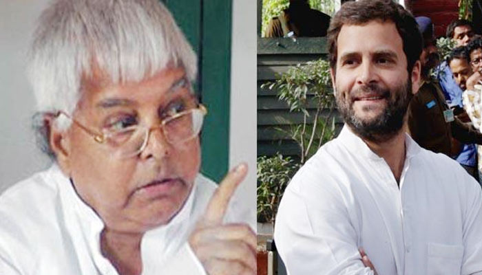 Lalu terms Rahul Gandhi 'joker', predicts SP's win in UP elections