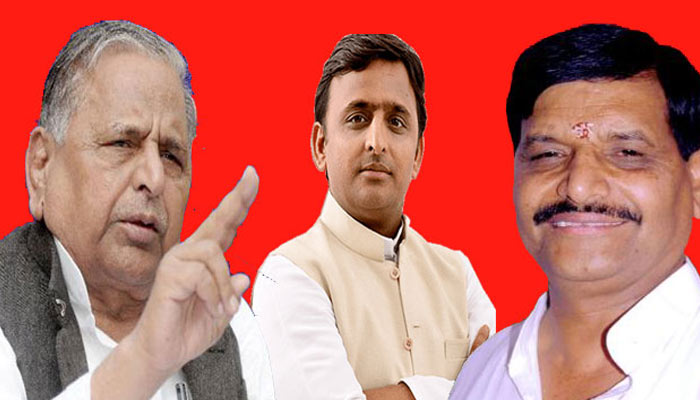 Mulayam strives to keep its family flock intact: may restore some decisions