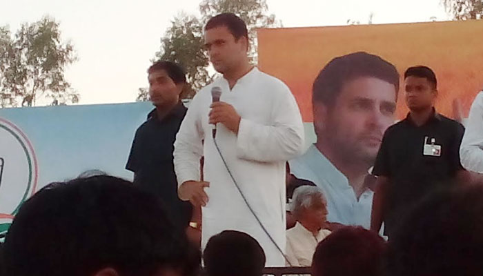 Development work in UP paralyzed due to Yadav family tussle: Rahul