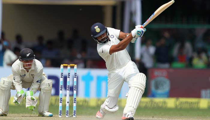 Kanpur Test: India declares at 377 runs, NZ needs 434 to win