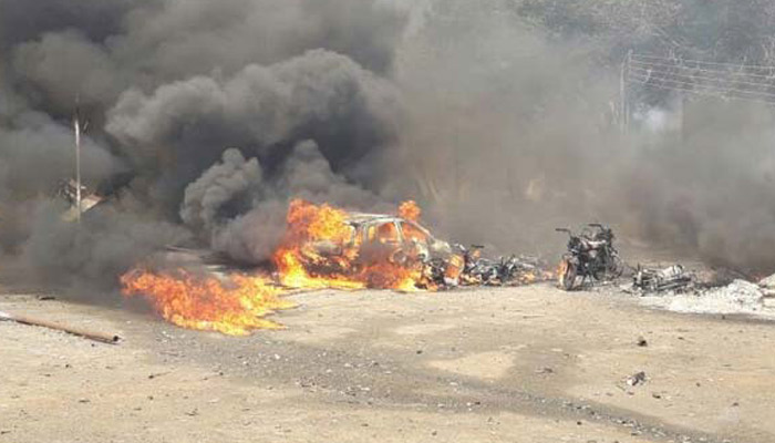 Major fire in Maharashtra destroys 200 shops and 40 vehicles