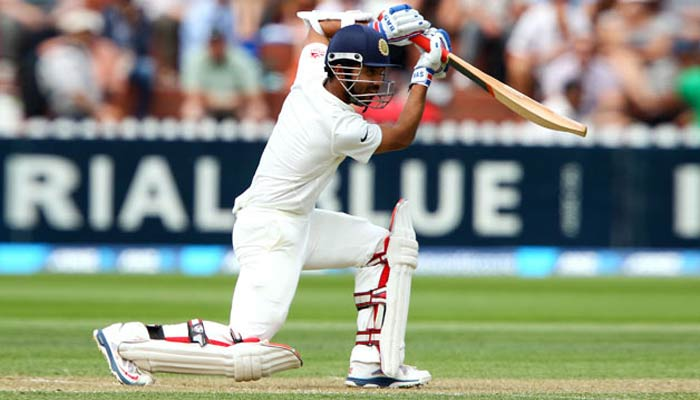 Rahane crosses 2000 mark in test cricket at Indore
