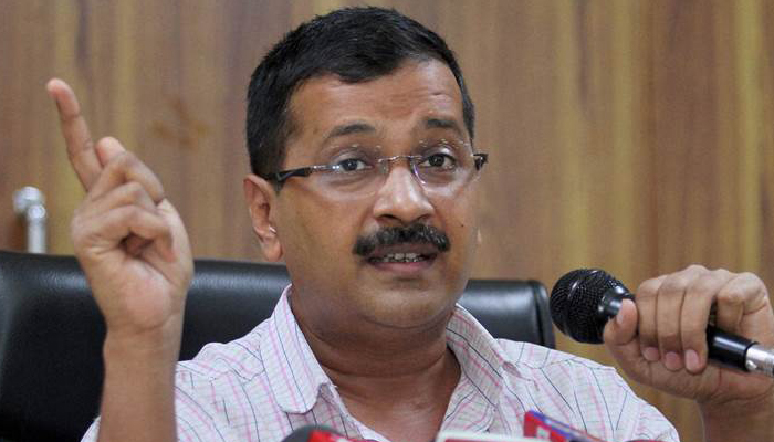 People in BJP are greedy for power and money: Kejriwal