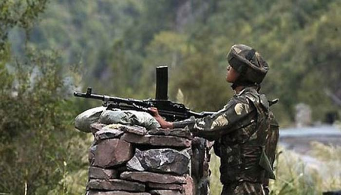 Two army officers martyred retaliating to Pak's ceasefire violations