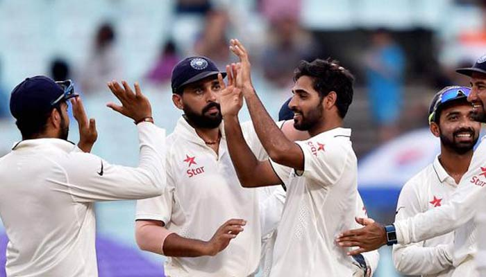 India gains 112 runs lead, looking for a win against NZ in 2nd test
