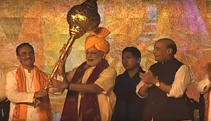 PM Modi chooses Dussehra as occasion to send strong message to Pak