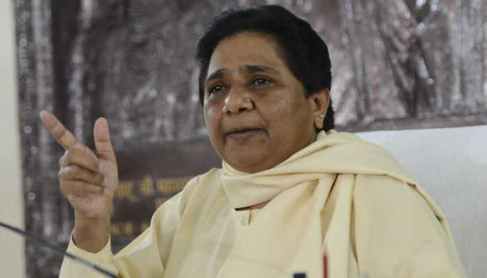 Muslims should not waste their votes on SP, says Mayawati