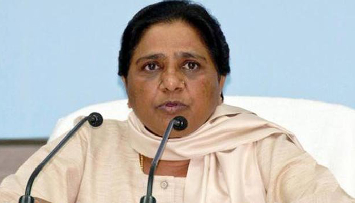 PM giving lollipop by announcing schemes in haste: Mayawati