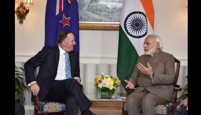 PM Modi acknowledges New Zealand's support in NSG membership