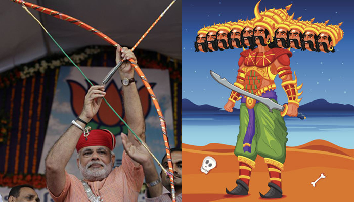 PM Modi to kill the Ravana of Terrorism in Lucknow this Dussehra