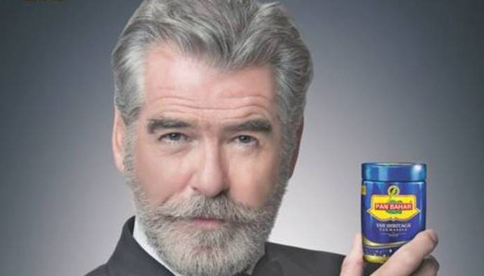 Believe it or not! Pan Bahar tricked James Bond for ad