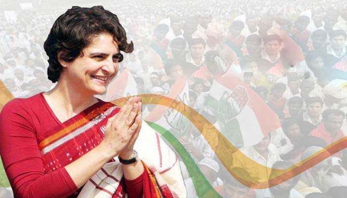 Congress plans road shows of Priyanka to revive its fortune