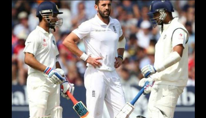Rahane also hits century, India on top in Indore test