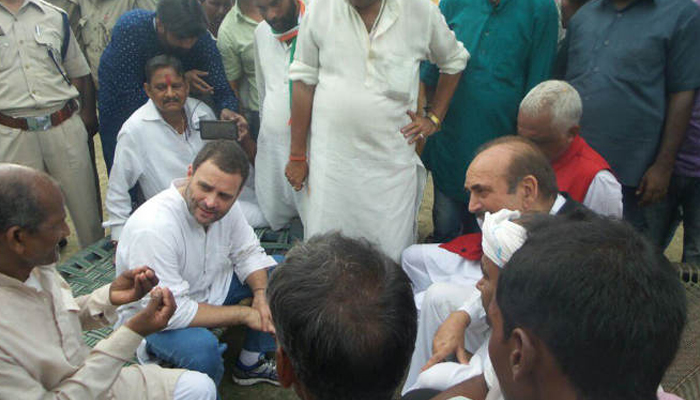 Case filed against Congress for violating sec 144 during RaGa show