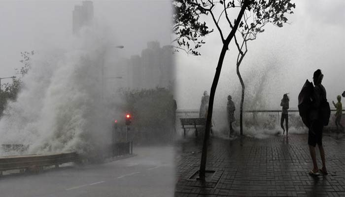 Typhoon Haima makes landfall in China, Red alert in the nation