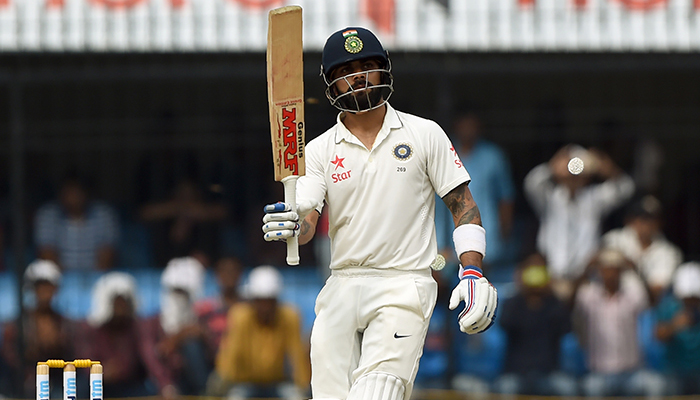 IndvsNZ: India poised for big score after Virat special
