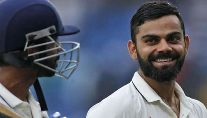Virat hits 200, becomes first Indian captain to score two double tons