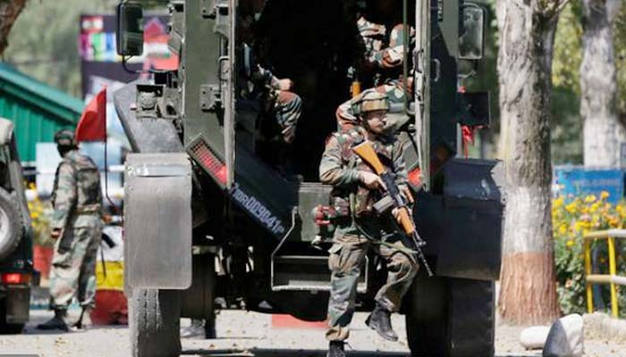 Indian Army guns down three terrorists, recovers three weapons