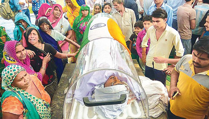 Dadri accused Sisodia cremated after govt assures help for family