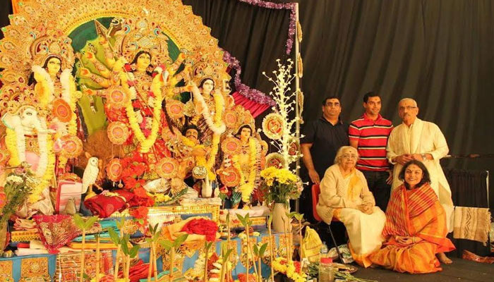 The world celebrates the Navratri with great fervour