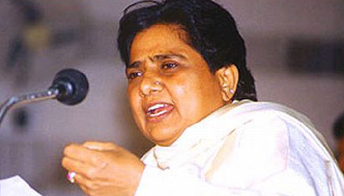 Surveys are sponsored by industrialists to suit BJP and Congress: Mayawati