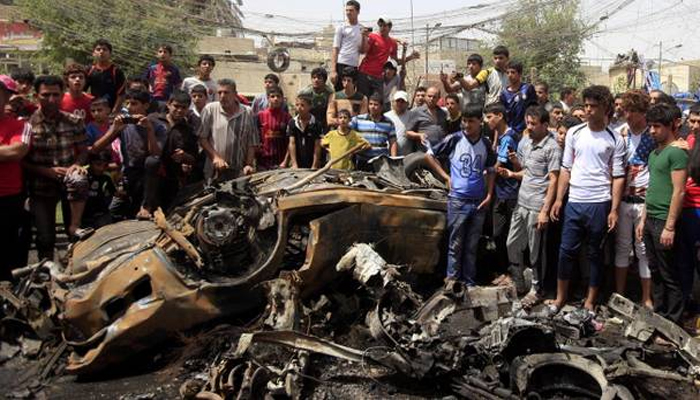 32 killed, 60 injured in suicide bombing attack in Baghdad