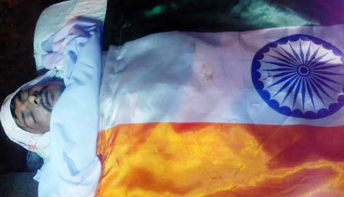 Dadri lynching suspect called 'Martyr', deadbody wrapped in tricolour