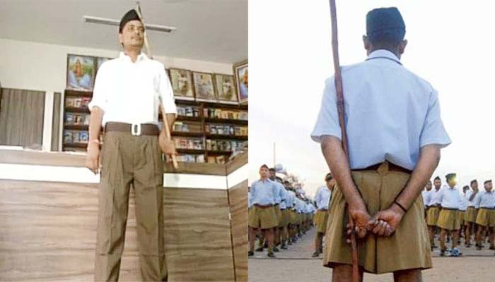 RSS replaces its trademark khaki shorts with full pants