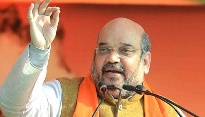 BJPs wave has turned into Tsunami in UP Polls, says Amit Shah