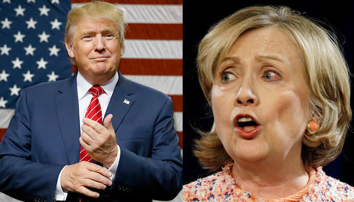 US Presidential Elections: Trump ahead of Clinton in New Hampshire