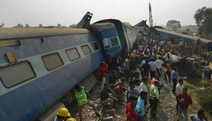 Rail safety commissioner orders statutory enquiry into Kanpur derailment