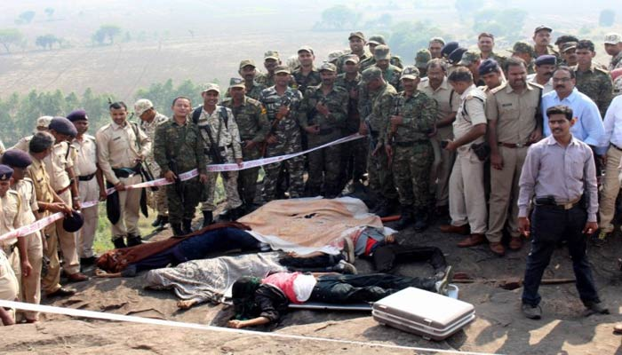 MP police and ATS kill eight SIMI terrorists after eight hours of struggle