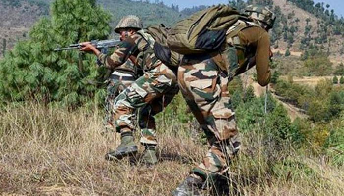 Clash between Indian Army and terrorists, one SOC killed