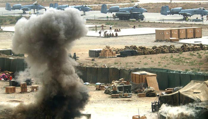 Explosion rocks largest US military base in Afghanistan