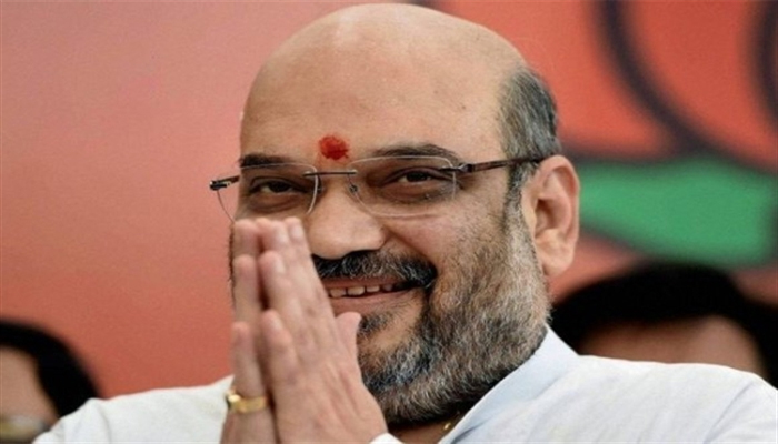 Amit Shah launches UP Ke Mann Ki Baat campaign in Lucknow