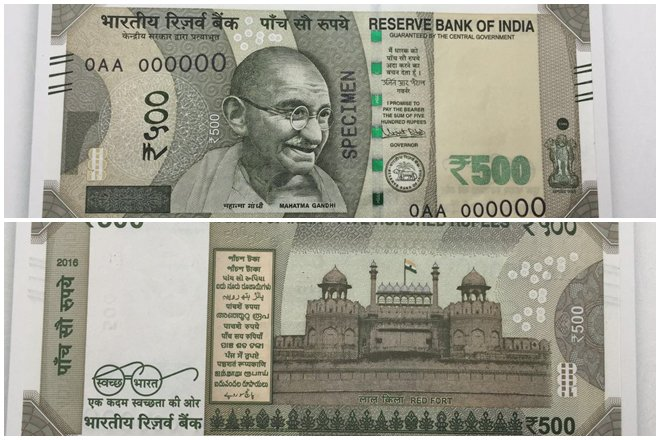 RBI launches Rs. 500 currency notes in Delhi, Bhopal