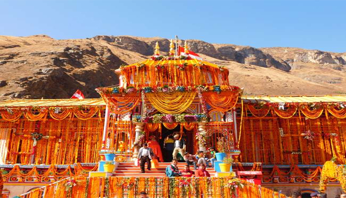 Badrinath temple closed for six months during winters