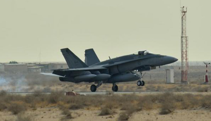 Canadian fighter jet crashes while training, pilot dead