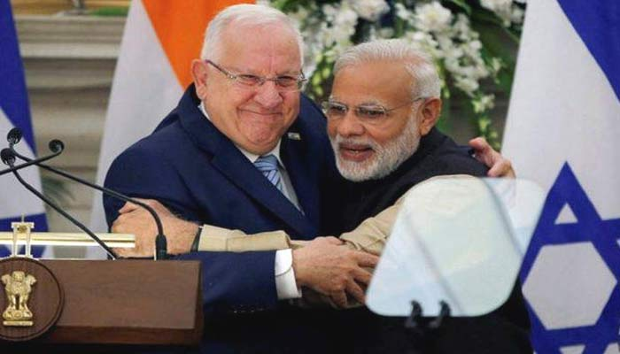 Israel President visits India, nations sign a number of pacts