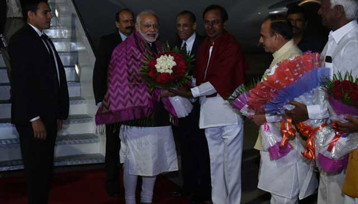 PM Modi to address DGPs conference in Hyderabad