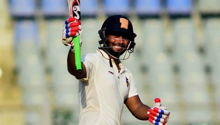 Teenager Rishabh Pant rewrites record in first class Cricket