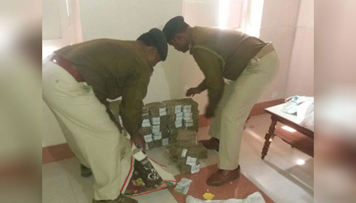 Modi effect: a large sum recovered from a postal employee house