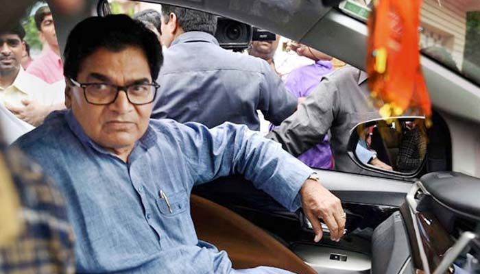 Charged with corruption, Ram Gopal Yadav breaks down before media