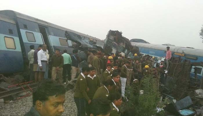 Indore-Patna express derails in UP, death toll rises to 117